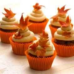 Adorable Autumn Cupcakes