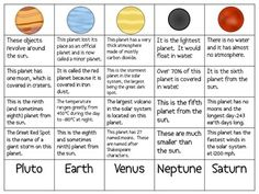 teaching 4th grade solar system - photo #2