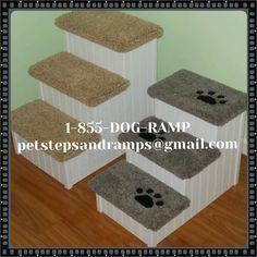 Custom Dog Steps #PetSteps #PetStairs #DogSteps #DogStairs #PetStepsforBeds  #DogStairsforBeds #