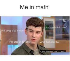 im so bad at math Shawn Mendes Magcon, Shawn Mendes Memes, A Funny, Funny Memes, Hilarious, Shawn Mendas, Chon Mendes, Mendes Army, Magcon Boys