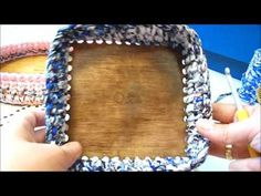 Wood Stitch Collection horgolható fa alapok - YouTube Projects To Try, Make It Yourself, Stitch, Wood, Basket, Collection, Knitting, Youtube, Crafts