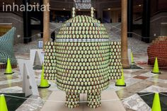 13 Awesome Sculptures Made from Food Cans at Canstruction 2013 | Arts Brookfield, MTA Transit, Cetra/Ruddy, DeSimone Consulting Engineers, GACE Consulting Engineers, Indira Hernandez, Amanda Coen, inhabitat, InhabitatNYC, Inhabitat NYC, NYC, New York, design competition, donated food, charity event, City Harvest, Arts Brookfield, World Financial Center, Winter Garden, sustainable design, recycled art, food donations, green architecture, benefit event, Canstruction