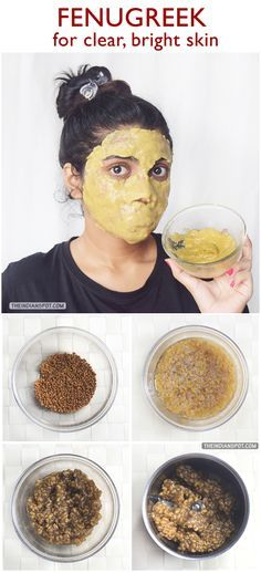 BEAUTY+DIY:+FENUGREEK+MASK+FOR+CLEAR+AND+BRIGHT+SKIN