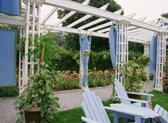 HGTV patio arbor fabric