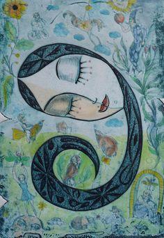 Cuba  - Eduardo Guerra Hernandez born in 1967 in Pinar del Rio, Cuba, works in the long and rich tradition of printmaking.