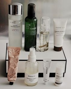 missha benton aloe bha grown alchemist pink basalt paula's choice farmacy whamisa korean beauty korean skincare