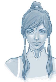 korra portrait study by ~intoyourheart on deviantART
