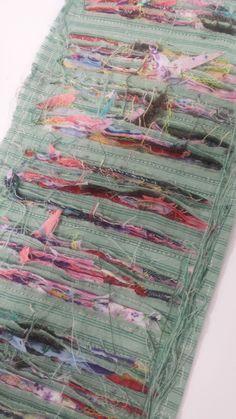 Fabric Slashing, the finished result