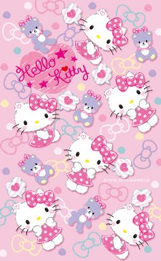 Hello Kitty Wallpaper...By Artist Unknown...