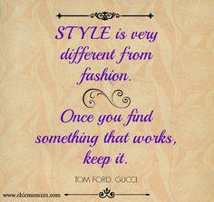 Style secrets, style vs fashion
