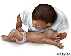 CPR on a Child and a Baby. Re-read every 3 months. Never hurts to know this, even if you don't have kids!