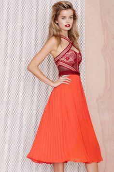 Three Floor True Romance Dress - Going Out   Midi + Maxi   Fit & Flare