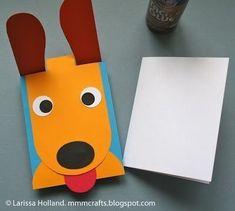 Arte & Reciclaje: Tarjeta divertida. Tutorial