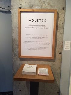 HOLSTEE at TAGSTA GALLERY in FUKUOKA   POP UP SHOP START!!!!!!!  presented by SEED