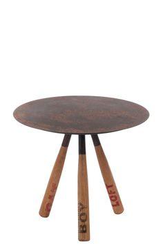 Table Tulipe design plateau verre 140 cm