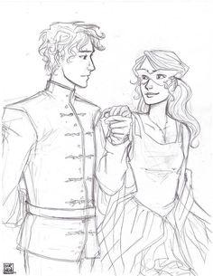 Dorian and Celaena