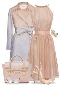 Very lady like. Luv it! Fashion Moda, Look Fashion, Spring Fashion, Womens Fashion, Gq Fashion, Funny Fashion, Mode Outfits, Fashion Outfits, Fashion Trends