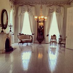 White Room, Nottoway Plantation