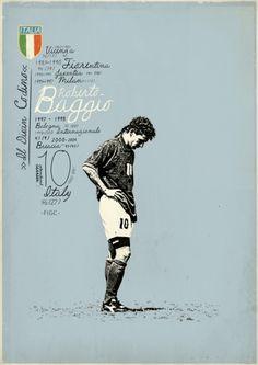 Le giocate di Roberto Baggio