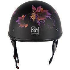 Lo-Profile Flower Fairy Helmet