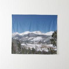 Rocky Mountain National Park tapestry -nature diy customize sprecial design