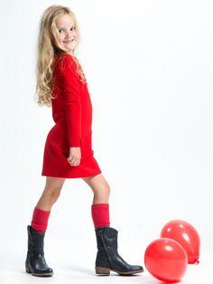 Classic dress scarlet 2