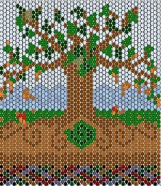 Free seed beading patterns - WetCanvas