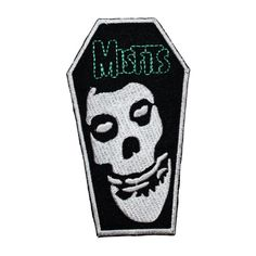 MISFITS COFFIN HEAVY METAL AMERICAN ICON MUSIC PUNK ROCK BAND LOGO IRON ON PATCH in Entertainment Memorabilia, Music Memorabilia, Rock & Pop | eBay