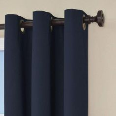 Eclipse Cassidy Blackout Grommet Window Curtain Panel 95 Inch Light Gray Curtains Smileamazon Dp B00ECP8ZII R