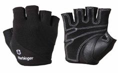 Harbinger 154 Power Women's StretchBack Gloves      Heavy duty StretchBack extends across fingers and back of hand to enhance ventilation, flexibility, comfort and fit     Wrap-around thumb protection cushions and covers the inside of the thumb with a second layer of leather to protect against abrasion     Reversed top grain leather on palm maximizes abrasion resistance without compromising tear strength     Double leather palm and fingers surround a layer of resilient foam to protect hands