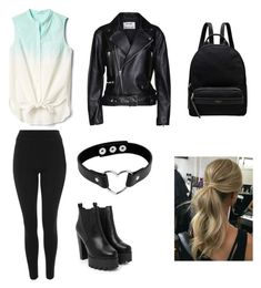 """Untitled #118"" by cazacubianca on Polyvore featuring Gap, Topshop, Nasty Gal, Acne Studios and Radley"