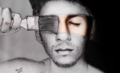 Pencil Drawing, Make your life color full