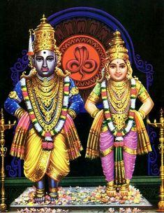 Sri Vittala and Rukmini, Lord Maa Shiva Art, Shiva Shakti, Krishna Art, Hindu Art, Hanuman Images, Lakshmi Images, Lord Krishna Images, Om Namah Shivaya, Krishna Temple
