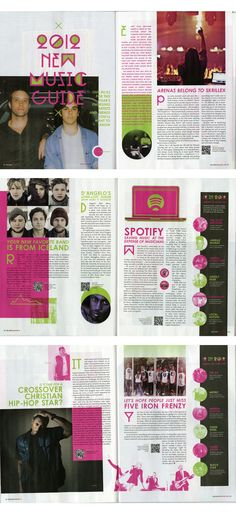 #layout #design by Relevant magazine