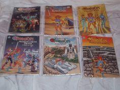 """Random House/Happy House """"ThunderCats"""" coloring/activity books"""