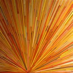 David Poppie creates some extraordinary works of art with sliced pencil crayons. As someone who pulled apart many pencil crayons as a child to see what was going on inside, I am dazzled by t . Pencil Painting, Color Pencil Art, Color Me Beautiful, Striped Background, Colored Pencils, Poppies, Art Photography, Stripes, Colours