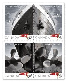 **Titanic commemorative stamps