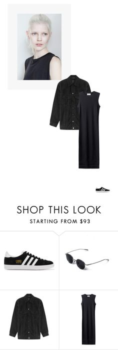 """""""/"""" by darkwood ❤ liked on Polyvore featuring adidas Originals and Alexander Wang"""