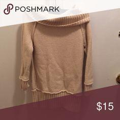 Loft cowl neck creme sweater xs Cute loft sweater Sweaters Cowl & Turtlenecks