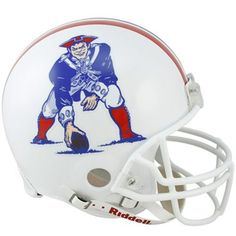 New England Patriots 1982 to 1989 Football Helmet