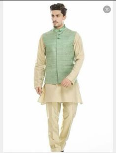For men Summer Wedding Suits, Wedding Outfit For Boys, Wedding Dress Men, Wedding Men, Wedding Attire, Wedding Outfits, Mens Indian Wear, Indian Men Fashion, Indian Groom Wear