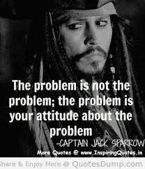 So cut the attitude!