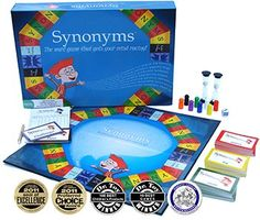 Synonyms- The Word Game That Gets Your Mind Racing!, 2011 Parents' Choice Award Recommended Award - Toys #Toy