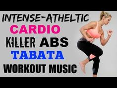 30 Minute No Equipment Cardio and ABS Tabata Workout - YouTube first 15.5 min 7/5/16