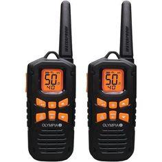 Olympia R500 42-mile 2-way Radios (pack of 1 Ea)