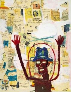 Jean Michel Basquiat Jean-Michel Basquiat : American Artist ( 1960 - 1988 ) More At FOSTERGINGER @ Pinterest