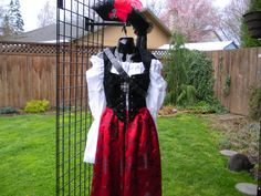 Pirate Wench Costume. Ladies pirate or by Piecesof8costumes, $248.00