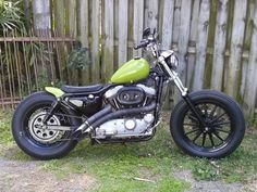 96 Sportster 1200 custom by Dave Johnson in clearwater Florida