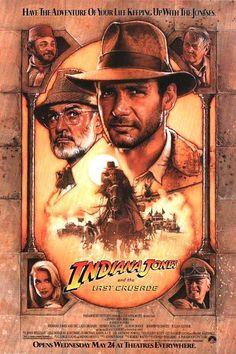 En esta tercera entrega, el padre del protagonista (Harrison Ford), Henry Jones, también arqueólogo (Sean Connery), es secuestrado cuando buscaba el Santo Grial. Indiana tendrá que ir a rescatarlo y, de paso, intentar hacerse con la preciada reliquia, que también ambicionan los nazis.