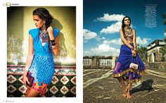 Lana B by Saurabh Dua for Grazia India April 2013. I JUST LOVE THE COLORS!